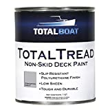 Best Deck Paints - TotalBoat TotalTread Non-Skid Deck Paint, Marine-Grade Anti-Slip Traction Review