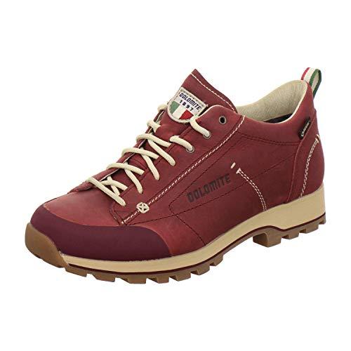 Dolomite Damen Zapato Cinquantaquattro ZINQUANTAQUATTRO Low FG W GTX Schuh, Burgunder Rot, 39 1/3 EU