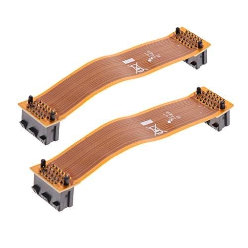 perfk Crossfire-Kabel mit Kupferkern Verbindungskabel für Grafikkarten (2 Stücke)