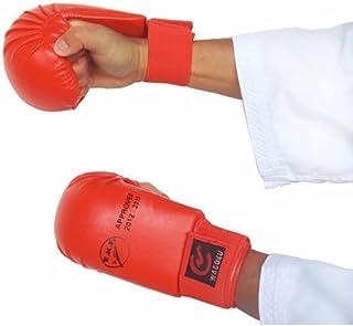 EKF Karate Competencia Aprobado Sparring Mitones ( Azul De colores Juego ) - Grande