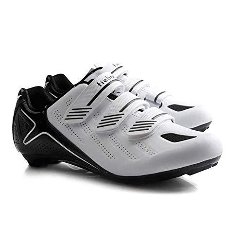 Zapatillas De Ciclismo Hombre Pedales Transpirables con Cierre Automático Superstar Sneaker Athletic...