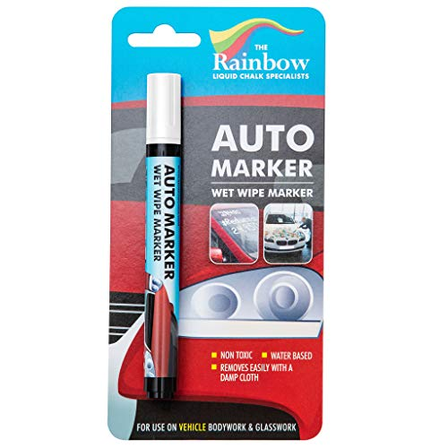 Car Paint Marker Pens Auto Writer White - All Surfaces, Windows, Glass, Tire, Metal