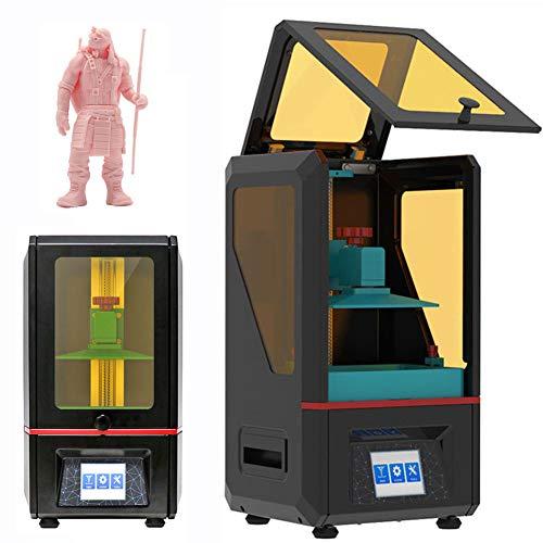 Stampante 3D Fotopolimerizzabile Stampante in Resina Fotosensibile LCD Display 2K Scocca in Metallo Pieno Parti in Alluminio CNC Stampante 3D Desktop Ad Alta Precisione