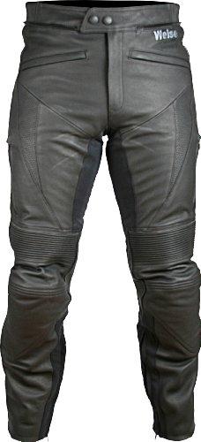 Hydra–Pantalones vaqueros para motorista de piel Weise