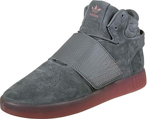 adidas Herren Tubular Invader Strap Fitnessschuhe, Mehrfarbig (Gricua/Gricua/Rosnat), 43 1/3 EU