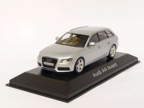 Audi A4 Avant, silber, 2008, Modellauto, Fertigmodell, Minichamps 1:43