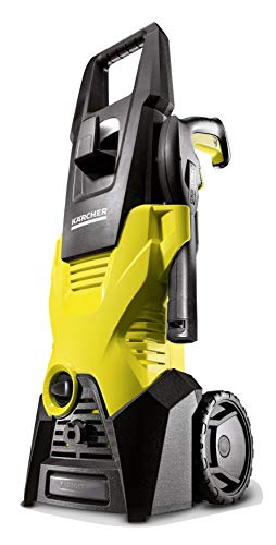 Ku00e4rcher 16018850 K 3 Home Pressure Washer, 1600 W, 240 V, Yellow/Black Outdoor Power Tools Mowers & Outdoor Power Tools
