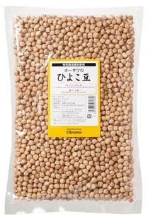 オーサワのひよこ豆 1kg×10個                  JANコード:4932828061689