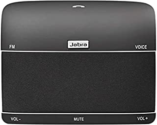Jabra Freeway Bluetooth In-Car Speakerphone - High Noise Cancelling Voice Controlled Microphone and Speaker for Calls, Music Streaming and GPS - Black (B004XZHY34) | Amazon price tracker / tracking, Amazon price history charts, Amazon price watches, Amazon price drop alerts