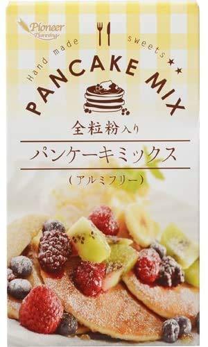 訳あり(賞味期限2021.8.28)パイオニア企画 全粒粉入りパンケーキミックス250g×2個