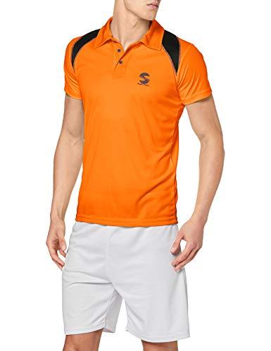 Softee Camiseta para Hombre, Naranja/Negro, XL ⭐