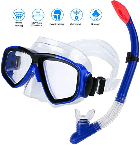AIMTOP Set para Snorkeling Mascara e...