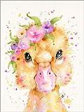 Poster 50 x 70 cm: Kleine Ente von Sillier Than Sally -