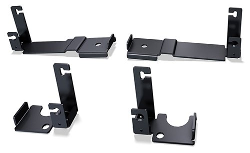 Mounting Brackets - Ceiling Panel Rail (Cooling/Racks)