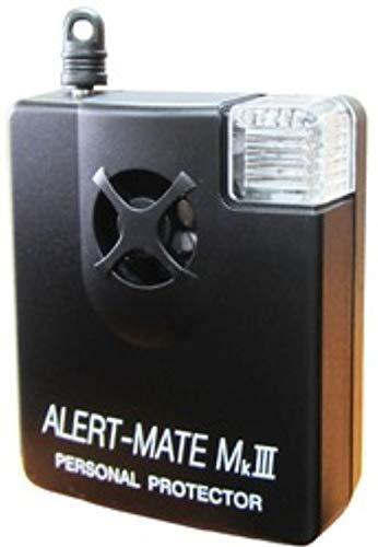 弁天インテリア 防犯ブザー 防犯ベル 大音量アラーム 130db 携帯 玄関置き 72X59×27mm