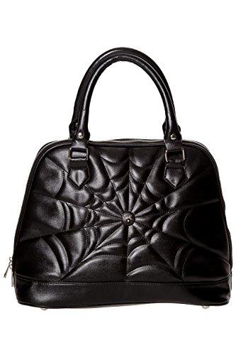 Verbotene Malice Alternative Gothic Handtasche - Black/One Size