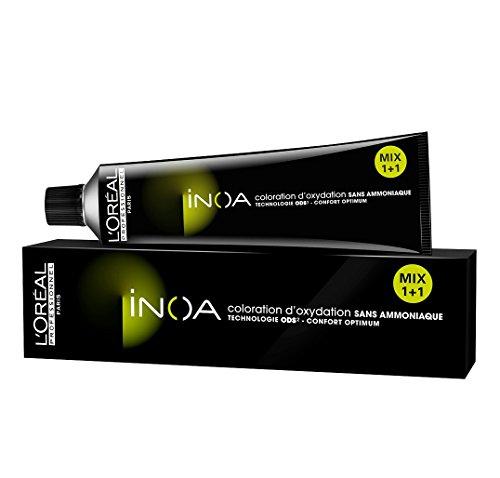 L'Oréal Professionnel INOA 8,1 hellblond asch 60 ml Haarfarbe Nuance 8,1