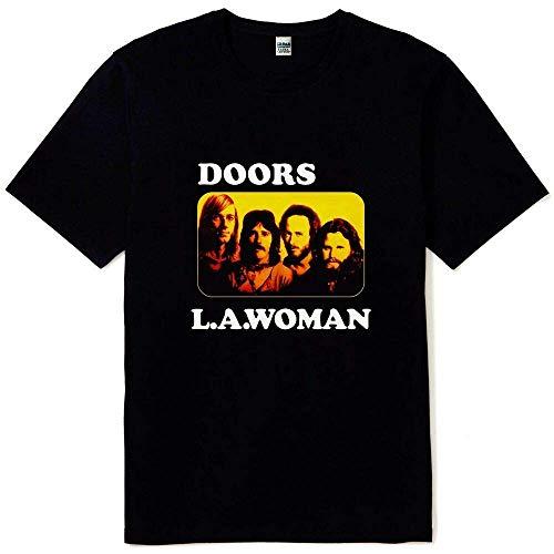 New The Doors L.A. Woman Men's Black T Shirt Sizes S M L XL 2XL 3XL