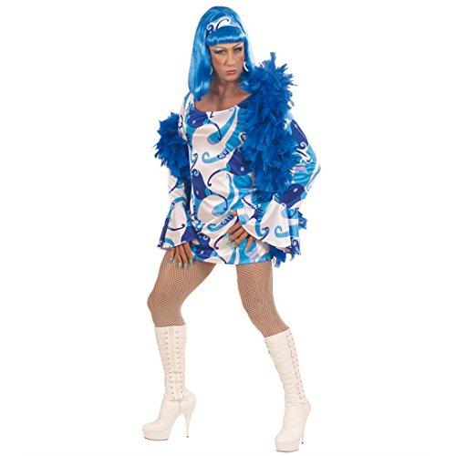 NET TOYS Costume Travestimento Sexy Stile Anni Settanta Taglia Abito Maschile per Drag Queen - XL 58/60