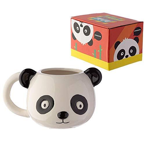 Miss Pretty London Ceramic Animal Shaped Head Mug - Panda