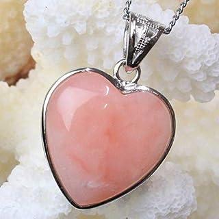 ピンクオパール ペンダント ネックレス ペンダントトップ Pendant Necklace Pink Opal 蛋白石 メンズ レディース 海外直輸入価格で販売 一点物 天然石 パワーストーン a21034