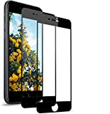 BOBI Protector Pantalla para iPhone 7/8,Cristal Templado Anti-Huella Digital (2 Unidadess)