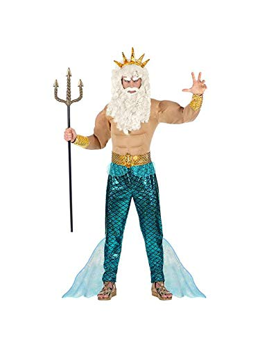WIDMANN 08751Adultos Disfraz Poseidon