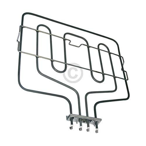 DL-pro Heizung Heizelement Oberhitze Grill 1100/2700W 230V für Bosch Siemens Neff 290149 00290149 für Backofen Herd