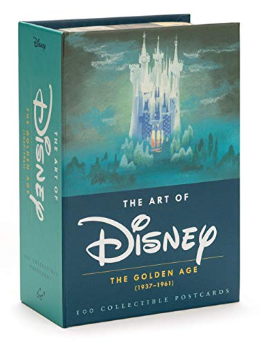 The Art of Disney - The Golden Age (1928-1961) Postcards: 100 Collectible Postcards