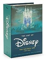 The art of disney : the golden age (1928-1961) postcards - The Golden Age (1937-1961) de Disney