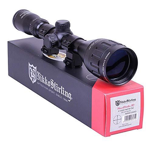 Nikko Stirling Mountmaster 4-12x50 PX ADJ Riflescope With Mounts NMM41250AO...