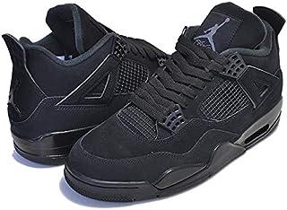 [ナイキ] エアジョーダン 4 レトロ cu1110-010 AIR JORDAN 4 RETRO BLACK CAT black/black-lt graphite スニーカー AJ IV ブラックキャット [並行輸入品]