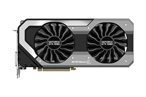Palit NEB1080015P2-1040J GeForce GTX 1080 8GB GDDR5X - Tarjeta gráfica (NVIDIA, GeForce GTX 1080, 7680 x 4320 Pixeles)