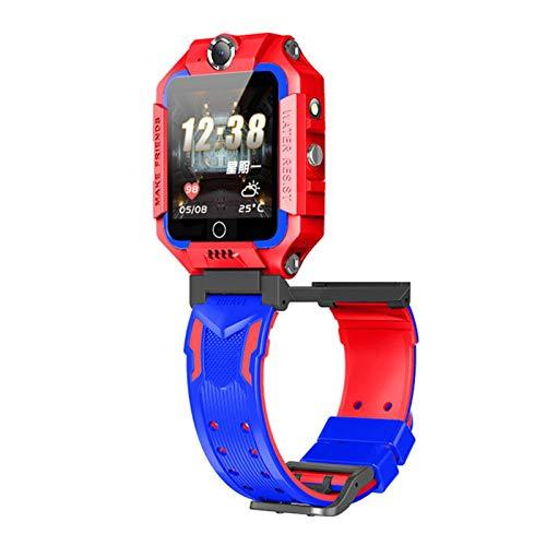 Juguetes para niños Reloj de posicionamiento Pantalla táctil Estudiante Inteligente Reloj Impermeable para teléfono Juguetes con rastreador LBS Posicionamiento GPS Llamada Emergencia cámara Linterna