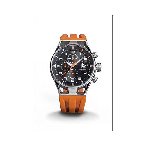 Orologio Locman Montecristo 0542A01S-00BKORSO Al quarzo (batteria) Acciaio...