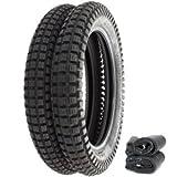 Shinko SR241 Trail Tire Set - Fits Honda CT90/110/200 CL125A - Tires and Tubes