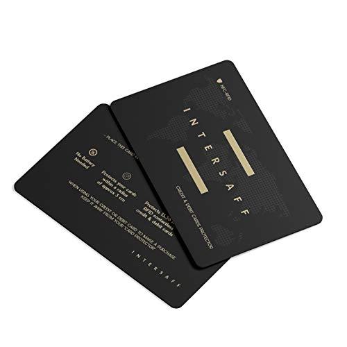 Rfid Protection Protezione Rfid & Nfc Per Carte di Credito Contactless Passaporto Carta d'identità - Blocking Per Portafoglio Uomo Donna - Portacarte Schermato E Sicuro, Idee Regalo