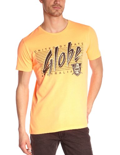 Globe Raiders T-Shirt homme Néon Orange FR : 42 (Taille Fabricant : XL)