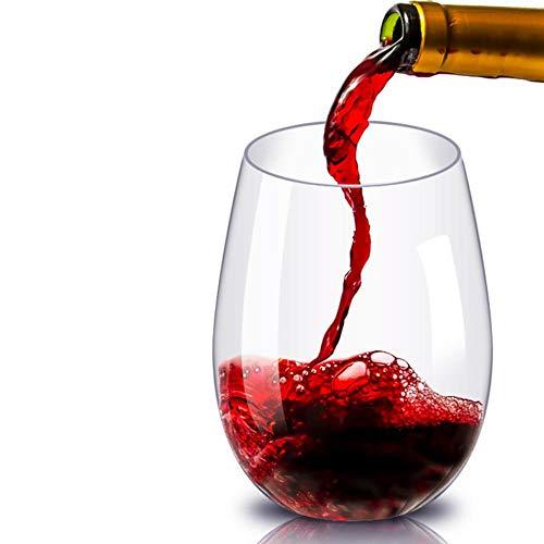 Copas De Champán, Tazas, Regalos 2 Unids/Set Vasos De Leche De Vino Tinto De Plástico Para Vino Taza De Cerveza De Jugo De Fruta Reutilizable Vasos