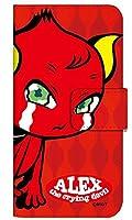 [Qua phone QX KYV42] スマホケース 手帳型 ケース デザイン手帳 キュアフォン キューエックス 8311-C. ALEX かわいい 可愛い 人気 柄 ケータイケース ヌヌコ 谷口亮