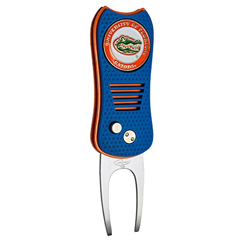 Best Buy! Team Golf NCAA Florida Gators Switchblade Divot Tool with Double-Sided Magnetic Ball Marke...