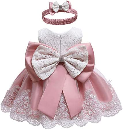 Toddler Girl Christmas Easter Dress Infant Toddler Birthday Pageant Party Lace Formal Prom Dresses product image