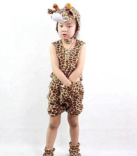 MATISSA Disfraces de animales para niños, sin mangas, para verano, fiesta, pijama, cosplay (para...