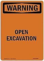 注意サイン-発掘調査を開きます。 通行の危険性屋外防水および防錆金属錫サイン