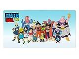 Grande Alfombrilla para el Gaming de Dragon B. | Almohadilla XXL Manga | 80x40cm | Son Goku & Amigos