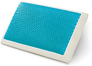 Comfort Revolution Hyrdraluxe Memory Foam Bed Pillow Color: Cool Cerulean