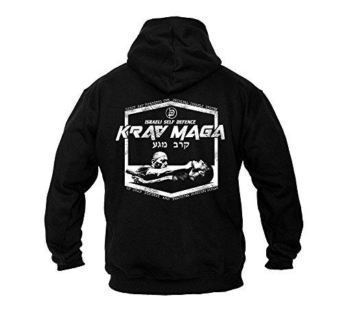 Dirty Ray Kampfsport Krav Maga Israeli Self Defence Herren Kapuzenpullover BDT12 (L)