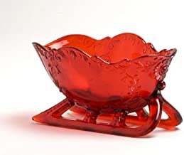product image for Mosser Glass Sleigh in Red