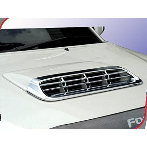 Auto Concept ABS Chrome Front Bonat Scoop cover for Toyota fortuner - Set of 1