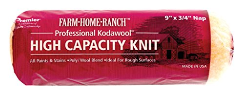 Premier 9' x 3/4' Nap High Capacity Knit Roller Cover, Farm-Home-Ranch Kodawool FHR00153